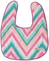 Caden Lane Ikat Collection Bib Set, Chevron Pink, 2-Count by