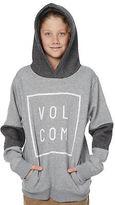 Volcom New Boys Kids Boys Flagg Pullover Cotton Grey