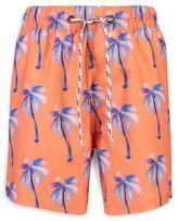 Snapper Rock Little Boy's & Boy's Moorings Palm Sunset Board Shorts