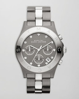 Marc by Marc Jacobs Blade Two-Tone Watch, Stainless Steel/Gunmetal