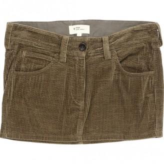 Etoile Isabel Marant Beige Velvet Skirt for Women