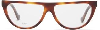 Loewe D-frame Acetate Glasses - Tortoiseshell