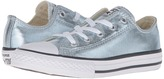 Converse Chuck Taylor® All Star® Metallic Canvas Ox (Little Kid)