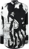 Ann Demeulemeester printed shirt