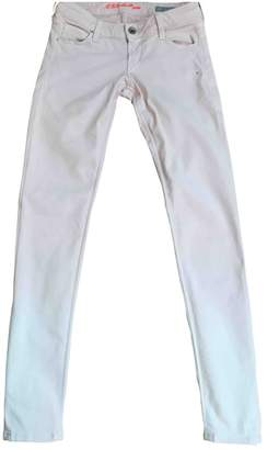 GUESS Pink Cotton Jeans
