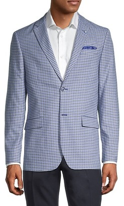 Ben Sherman Standard-Fit Mini Checkered Sportcoat