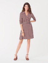 Diane von Furstenberg T/73 Silk-Jersey Mini Wrap Dress