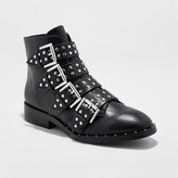 Mossimo Women's Briar Studded Combat Boots