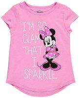 "Disney Minnie Mouse Big Girls' ""So Glam"" T-Shirt"