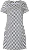 Peserico polka dots shift dress