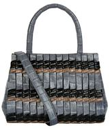 Nancy Gonzalez Small Crocodile Daisy Satchel Bag