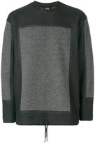 Diesel bicolour sweatshirt - men - Cotton/Polyester/Viscose - L