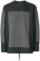 Diesel bicolour sweatshirt - men - Cotton/Polyester/Viscose - XS