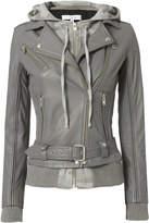 IRO Harper Camo Combo Leather Jacket