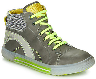 Catimini PAPYRUS boys's Shoes (High-top Trainers) in Grey