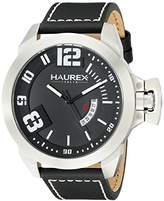 Haurex Italy Men's 6A509UNN Storm Analog Display Quartz Black Watch