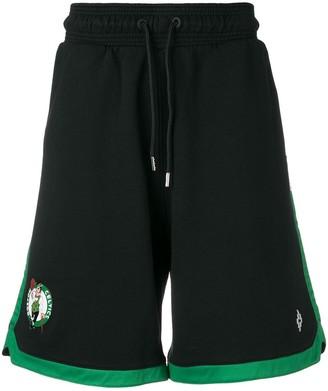 Marcelo Burlon County of Milan Boston Celtics shorts