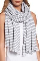 Eileen Fisher Women's Stripe Organic Cotton Scarf