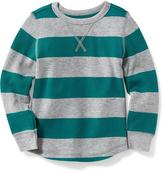 Old Navy Striped Thermal Tee for Toddler