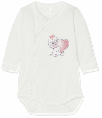 Name It Baby Girls' Nbfriben Ls Body Footies