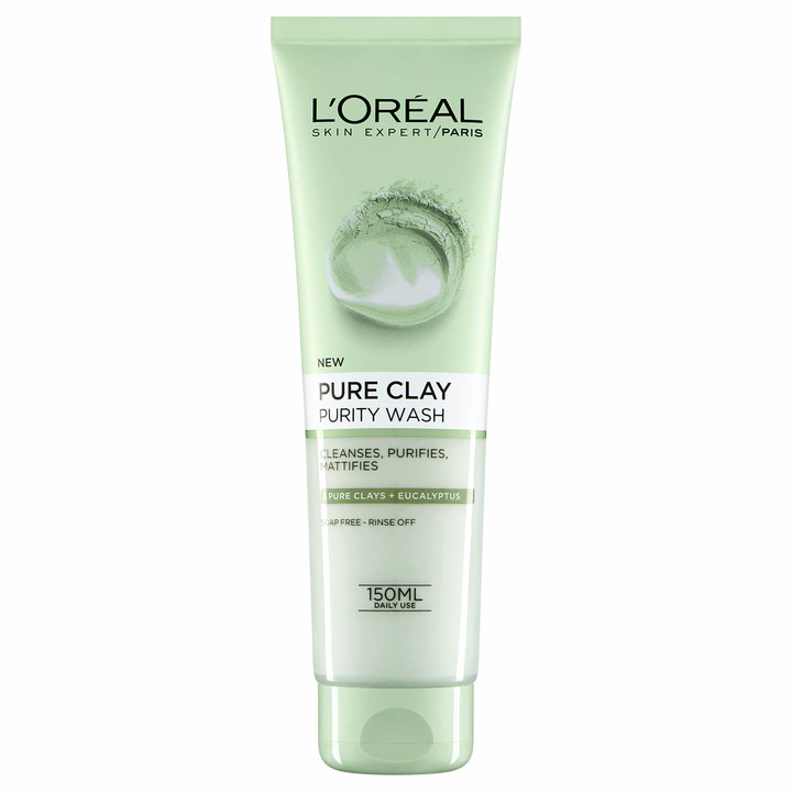 L'Oreal Pure Clay Purity Foam Wash 150ml
