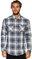 RVCA Neutral Plaid Ls Shirt