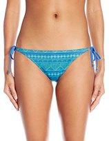 Reef Women's Zen and Zag Tie Side Bikini Bottom