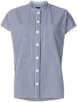 Joseph striped short sleeve shirt