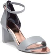 Ted Baker Sheah Leather Block Heel Sandal