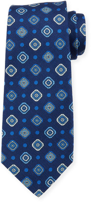 Kiton Fancy Box Silk Tie