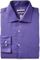 Van Heusen Men's Long Sleeve Regular Tek Fit Wrinkle Free Dress Shirt