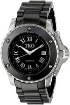 Tko TKO ORLOGI Women's TK575-BK Genuine Ceramic Black Dial Watch