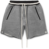 Fear Of God - Loopback Cotton-blend Jersey Drawstring Shorts
