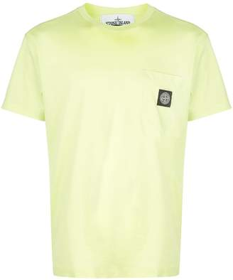 Stone Island logo patch relaxed-fit T-shirt