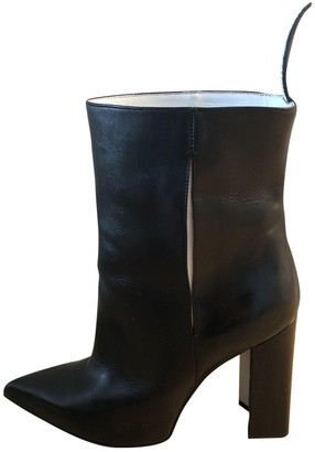 Louis Vuitton PokerFace Black Leather Ankle boots
