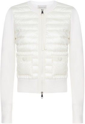 Moncler Padded Zip Up Jacket