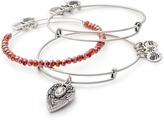 Alex and Ani Guardian Angel Set of 3 RAFAELIAN SILVER