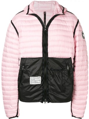 Colmar A.G.E. By Shayne Oliver Contrast Panel Padded Jacket