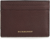 Burberry Sandon grained-leather cardholder
