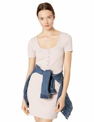 RVCA Womens GO for Broke Short Sleeve Dress