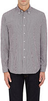 Barneys New York MEN'S GINGHAM COTTON DRESS SHIRT