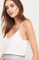 Dynamite V-Neck Cami with Lace
