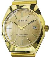 Benrus Gold Plated & Stainless Steel 36mm Watch Year 1960