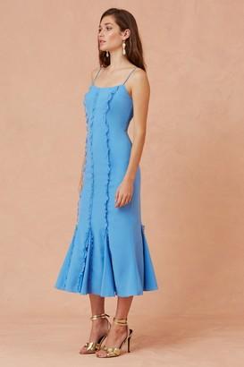 Keepsake BELOVED MIDI DRESS royal blue