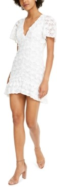 Foxiedox Lou Lace Fit & Flare Dress