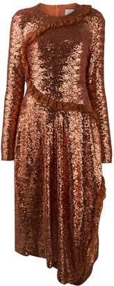 Preen by Thornton Bregazzi Yasmeen sequin dress