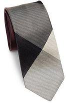 Burberry Mixed Texture Silk Tie
