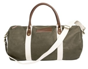 Cathy's Concepts Cathys's Concepts Pers Green Duffle Bag