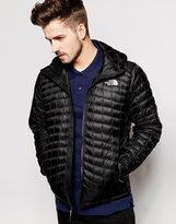 The North Face Thermoball Jacket With Hood - Black
