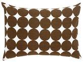 DwellStudio Dwell Studio Baby Dots - Boudoir Pillow, Chocolate